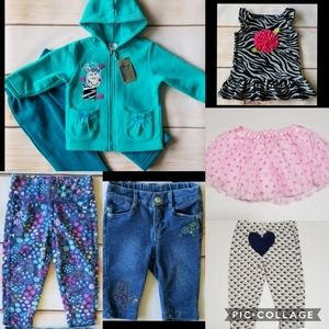 Baby Girl 6/12 Months Clothing Bundle